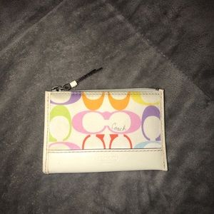 Authentic Coach coin pouch